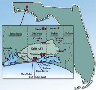 Florida Okaloosa County Every County