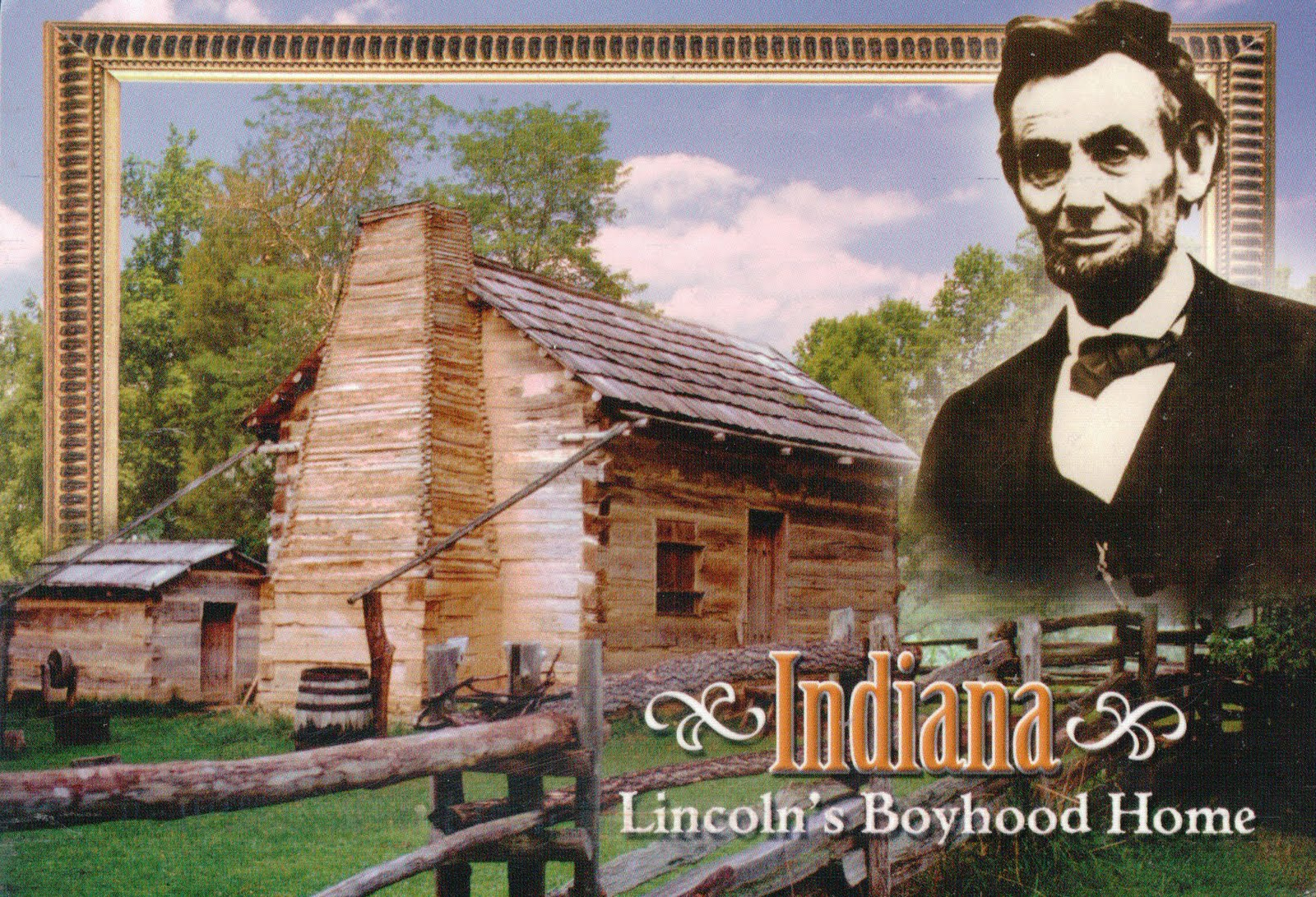 Indiana spencer county rockport - The Cabin Is A Replica